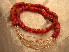 elena votsi jewelry | Coral