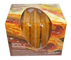 Galleta Erpo (Rellena guayaba - dulce de leche) x 5 und