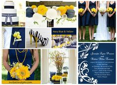 2014 Wedding Colors Trends-Navy Blue wedding inspirations