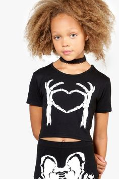 Girls Skeleton Heart Crop Halloween Mode, Halloween Fashion, Halloween Outfits, Halloween Clothes, Rad Tech, Women's Summer Fashion, Women's Fashion Dresses, Women Lingerie, Skeleton