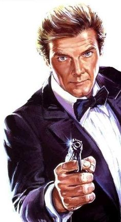 Nice artwork of Sir Roger Moore 007 - Nice artwork of Sir Roger Moore 007 - James Bond Movies, Roger Moore, Black And White Drawing, Stylish Men, Caricature, Movie Tv, About Me Blog, Poses, Long Hair Styles