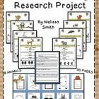 This adorable project will take all the pain out of your students' first research project. Included are 8 forest animal information cards, 1 report...