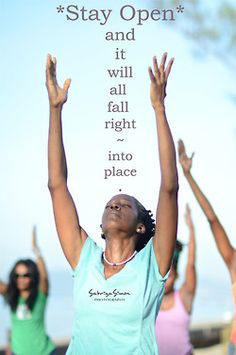 Sabriya Simon Photography  Photo Title: ~ Stay Open… ~    {Image taken during a morning yoga practice held in Downtown, Kingston, Jamaica, at the Waterfront}