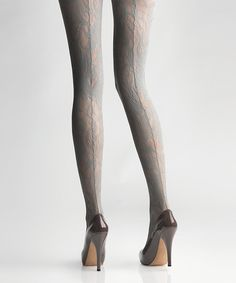 Hibiscus Blossom Lace Tights//
