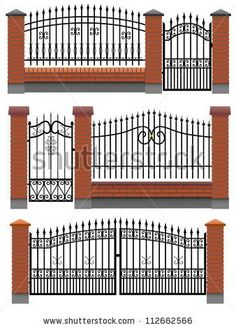 garden walls and fences for clapboard houses - Pesquisa do Google