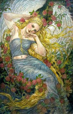 Rebecca Guay - Angel of First Love | R.Michelson Galleries