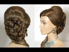 Prom Bridal Hairstyles For Long Hair. Wedding Hair Tutorial