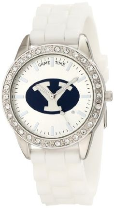 Wow, I want this -  Game Time Women's COL-FRO-BYU Frost College Series Brigham Young University Collegiate 3-Hand Analog Watch