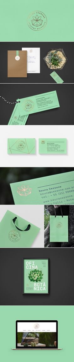 Oficina Botanica botanical shop branding by Estudio Insolito | Fivestar Branding Agency – Design and Branding Agency & Curated Inspiration Gallery #botanical #branding #packaging #identity #logo #logodesign #webdesign #design #behance #pinterest #dribbble #fivestarbranding