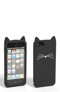 Kate Spade 'Black Cat' iPhone Case ($45) | Fabulous Gifts For Gals | THE MINDFUL SHOPPER