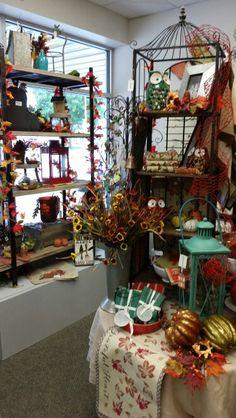 Autumn Display - Verona Autumn Displays, Store Displays, Verona, Christmas Tree, Holiday Decor, Fall, Home Decor, Teal Christmas Tree, Autumn