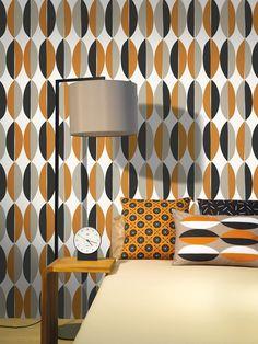 Ficus / non-woven wallpaper / lavmi