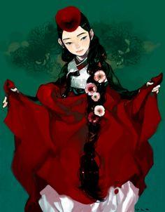 Hanbok illustration : RocoA
