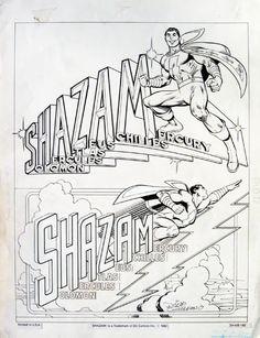 José Luis García-López: DC Comics style guide for Captain Marvel Comic Book Artists, Comic Books Art, Captain Marvel Shazam, Garcia Lopez, Comic Art Community, Marvel Comics Art, Magic Words, Comic Styles, American Comics