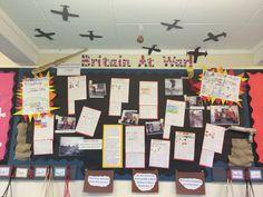 World War One classroom display