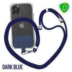 CoGear - Universal Phone Lanyard Patch Put Your Phone Down, Go Skiing, Just Let It Go, Patch Design, Skin So Soft, Phone Cover, Metal Buckles, Cell Phone Accessories