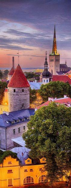 Estonia Travel Inspiration - Tallinn, Estonia