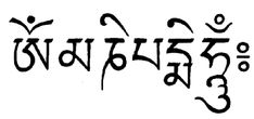 The Meaning Of Om Mani Peme Hum by abuddhistlibrary: Om Ma ni Pe me Hum is the most widely used of all Buddhist mantras. It is open to anyone who feels inspired to practice it to develop great love and compassion. This mantra originated in India and it is in Sanskrit. The meaning of this mantra is... Thanks to Marayogini ! #Mantra #Buddhism #Om_Mani_Peme_Hum