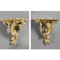 A pair of wall brackets<br><P>18th century style</P>   lot   Sotheby's
