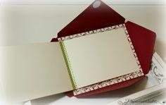 Minilalben: Idee für Fotoalbum (Leporello) mit Umschlag / Envelope Punch Board