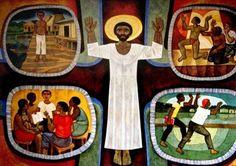 Body of Christ  (work of Cerezo Barredo)