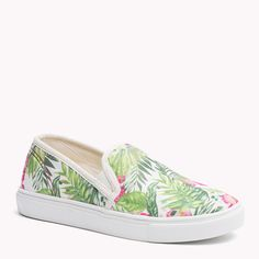 Tommy Hilfiger Paula Sneaker - floral print (Green) - Tommy Hilfiger Sneakers - main image