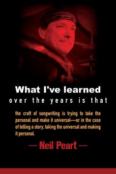 Rush lyricist Neil Peart - - Wellness for writers. How do you deal with butt-spread, eye strain, boundaries, self-esteem issues and the challenges of working in the same place you live? Author Quotes, Mom Quotes, Band Quotes, Music Quotes, Home Movie Quotes, Modern Drummer, Rush Band, Self Esteem Issues, Neil Peart