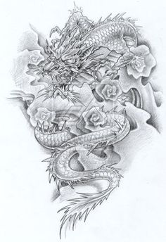90 Japanese Dragon Tattoo Designs For Men Manly Ink Ideas. 90 Japanese Dragon Tattoo Designs For Men Manly Ink Ideas. Dragon Tattoo For Women, Dragon Tattoo Designs, Tattoo Designs Men, Dragon Japanese Tattoo, Chinese Dragon Tattoos, Photo Tatoo, Traditional Japanese Tattoo Designs, Japanese Style, Chinese Style