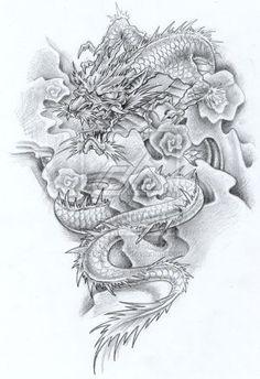 Japanese Dragon Tattoo Designs 9