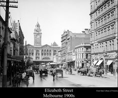 Elizabeth St 1900s