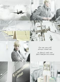 EXO through the hours( 10am - 12pm ) Tao picks you up at the airport( Collab withlnt90)