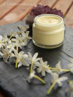 Crema natural de jazmín....¡sensual y armonizadora!