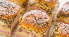 Baked Hawaiian Ham And Cheese Sliders