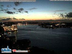 Stockholms inlopp al tramonto