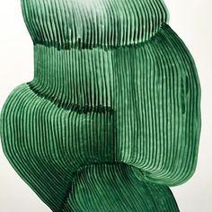 Emerald green natural paint stroke inspiration.