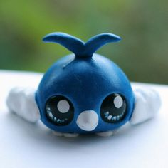Swablu Pokemon inspired Littlest Pet Shop by PiasLittleCustoms