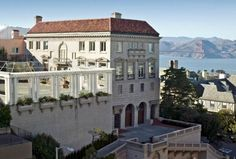 The 8-bed, 7.5-bath, Italian Renaissance hilltop mansion landed on the market in 2006 asking $58M.