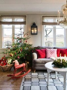 Christmas Living Room Decorations Ideas_30