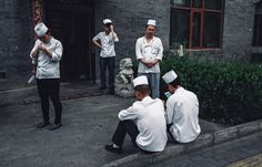 When I was taking the pictures people didnt notice me most of the time because we are all just focused on what were doing. Its more obvious in big cities like Beijing or Shanghai.  People At Work by Teddy Ye (3|4)  #photography #documentary