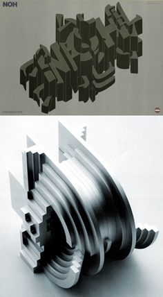 "Takenobu Igarashi's ""architectural alphabets"""