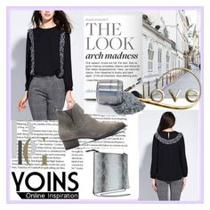 """""""YOINS 9/I"""" by damira-dlxv ❤ liked on Polyvore featuring women's clothing, women, female, woman, misses, juniors and yoins"""