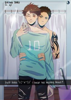 Iwaizumi x Oikawa couple Haikyuu /// Oikawa X Iwaizumi, Iwaoi, Kagehina, Haikyuu Funny, Haikyuu Fanart, Haikyuu Ships, Fanarts Anime, Manga Anime, Gay Lindo