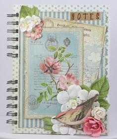 Little Scrap World: Cuaderno con Botanical Tea