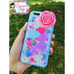 iPhone 6 Mermaid Deco Phone Case by KawaiianStyle on Etsy https://www.etsy.com/listing/233309729/iphone-6-mermaid-deco-phone-case