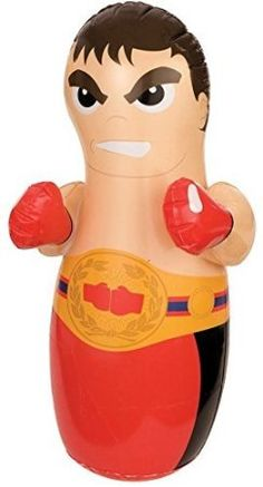 3d Bop Bag Up Inflatable Punching Boxer Toy