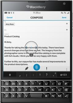 rubrica da blackberry su mac
