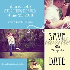 Country Wedding Save the Date by EntirelyUnwritten on Etsy