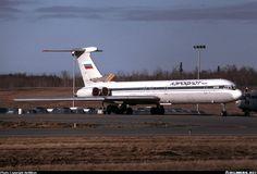 ИЛ-62М. Аляска, Анкоридж, май 1999г. После столкновения с Boeing 747-400