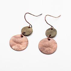 Cheap dangle drop earings, Buy Quality dangle earrings directly from China drop dangle earrings Suppliers: Women Europe Zinc Alloy Drop Earrings Vintage Antique Silver Copper Double Round Pendant Dangle Earrings Jewelry for Party