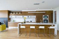 cuisine îlot central idee decoration moderne